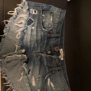 One teaspoon shorts Bonitas jean shorts 25